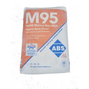 ABS Шпатлевка для машинного нанесения (белая) М-95 35кг