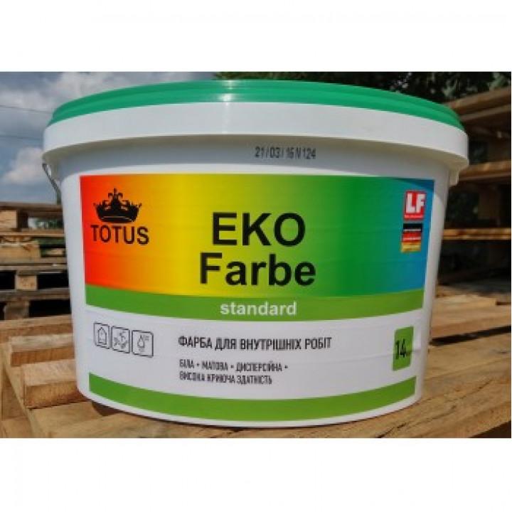 Тотус Eco Farbe Краска интерьерная дисперсионная (10л)