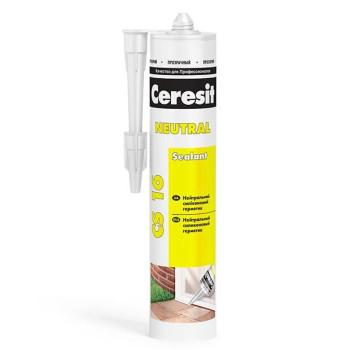 Ceresit CS 16 Герметик универсальный силиконовый нейтральный