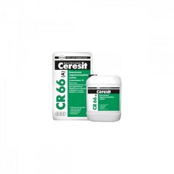 CERESIT CR-66 Эластичная гидроизоляционная смесь (компонентА+В) 17,5кг+5л.
