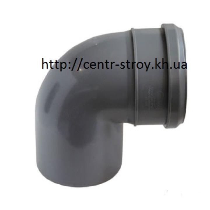 Уголок 50 мм (колено) канализационный (90 градусов)