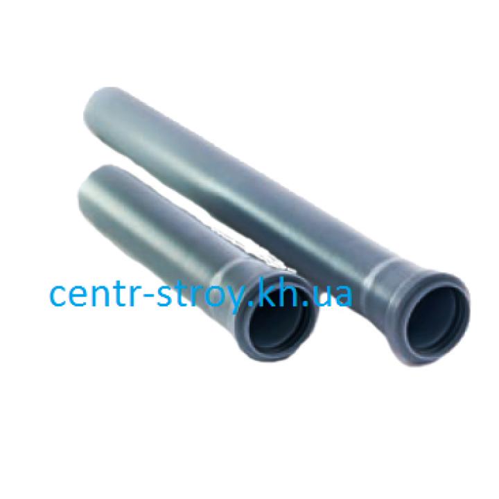 Труба для внутренней канализации 110мм (1 м)