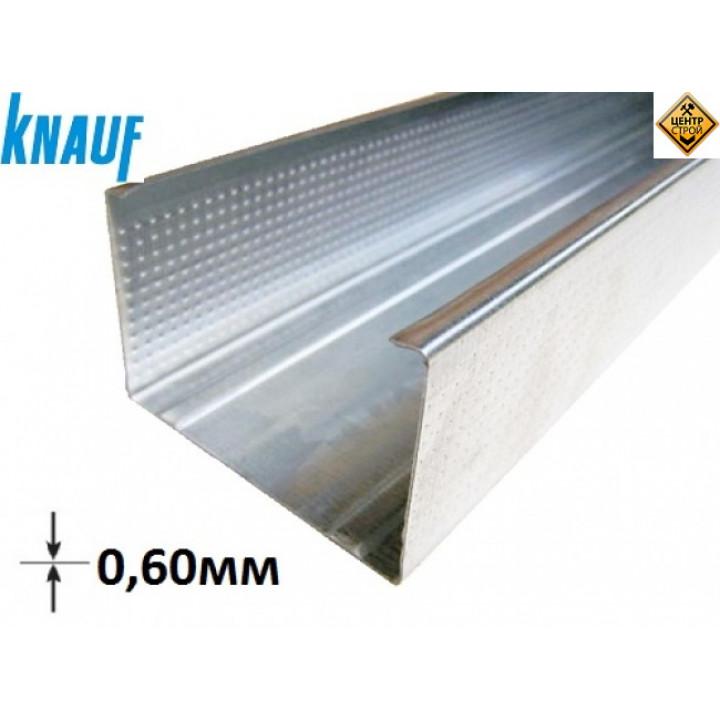 KNAUF профиль CW 75 3м (0,6 мм)