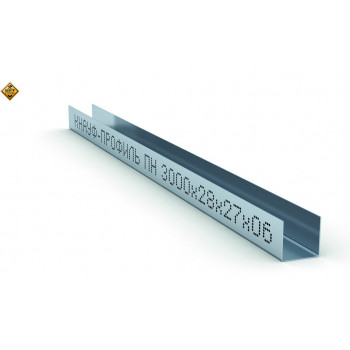 KNAUF профиль UD 27*28 толщ.0.6 4м