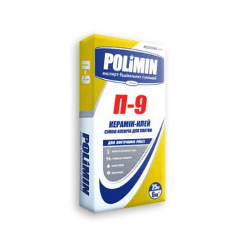 Полимин  П-9 Клей для плитки 25кг