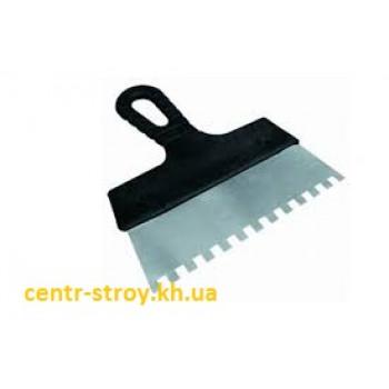 Шпатель зубчатый 150 мм (8х8 мм)