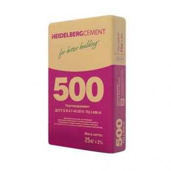 Цемент heidelberg Кривой Рог М 500 25кг