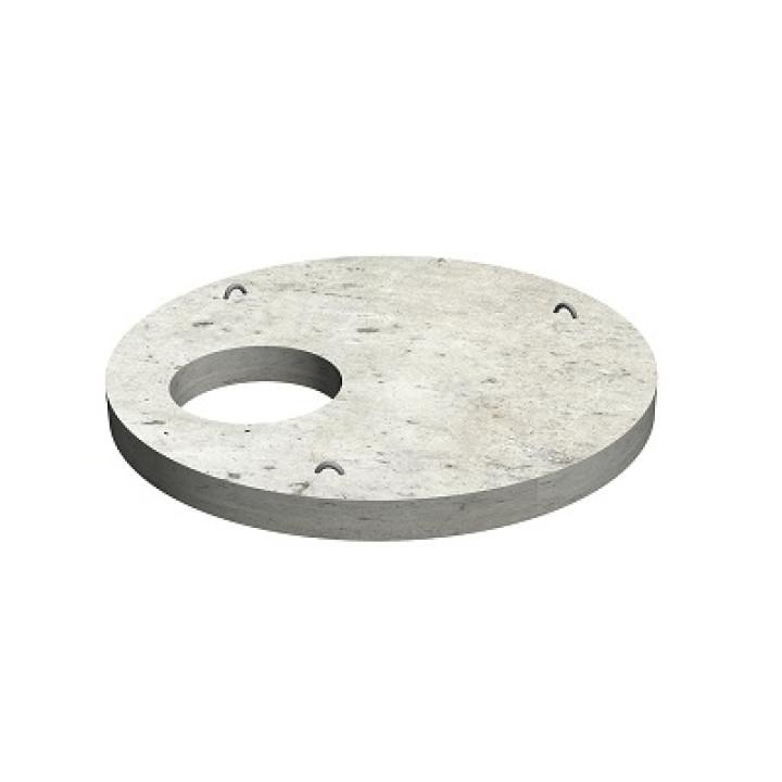 Крышка на бетонное кольцо диаметром 150 см