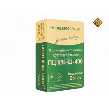 Цемент heidelberg ПЦ-400 Кривой Рог-Завод (25кг)
