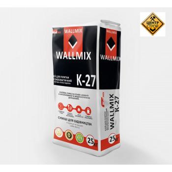 Wallmix К-27 Клей для плитки високоеластичний, 25кг