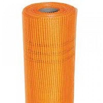 BUILDER OPTIMA Сетка штукатурная щелоч 50м.кв 160гр/м2 оранж