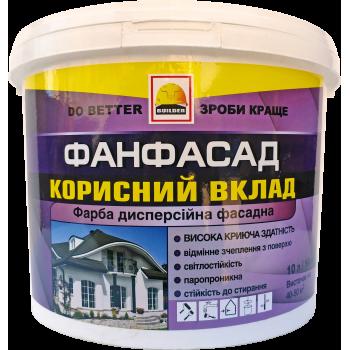 BUILDER ФАНФАСАД краска фасадная 14 кг