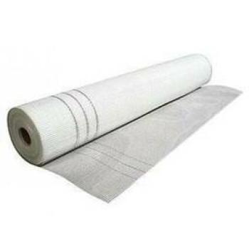 Сетка штукатурная щелочест.6*5мм (50м.кв 145гр/м2) Fiberglass белая