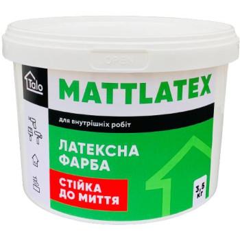ТАЛО Латексная матовая краска для внутренних работ с отличной стойкостью к мытью (14кг.)