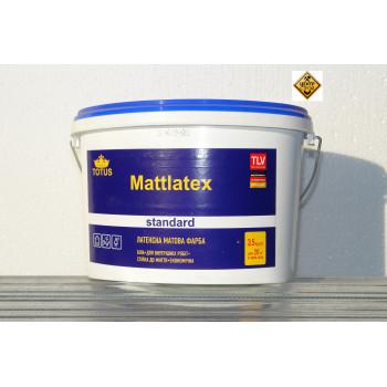 TOTUS MATTLATEX Краска латексная матовая 3,5кг