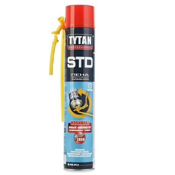 Tytan О2 Пена монтажная ЕRGO зима STD 750мл