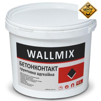 Wallmix Бетоноконтакт Адгезионная Грунтовка. 15 кг