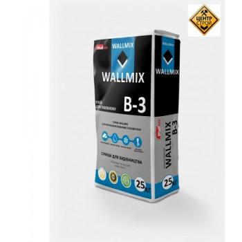 Wallmix B-3 Клей для газоблока, 25кг